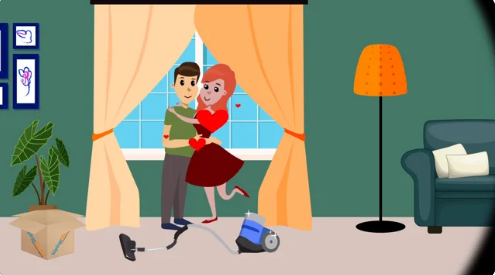 Valentines Day 2D Animation